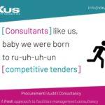 We procure FM service contracts...